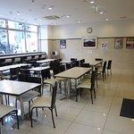 Lobby/breakfast dining area