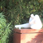 Sculpture, Big Sur Coast Gallery & Cafe, CA
