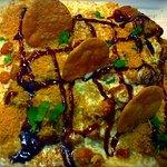 Papri Chat at Sawan Indian Restaurant