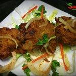 Onion Bhaji Starters at Sawan