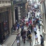The busy Obispo Street!