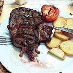 Ox steak superb!