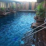 Outdoor pool on 24th floor