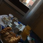 A perfect breakfast to start our venture in our second day at Venice.