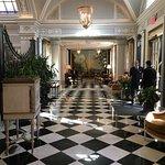Fabulous hotel lobby