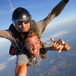 It was FUN skydiving with CJ Koegel MTV!