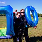 """I've been wanting to skydive for 30 years, so for my 70th birthday, I thought, now is the time!"