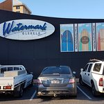 One of the carparks for the Watermark Restaurant