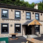 Harvey's Bar/kitchen