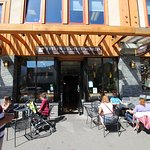 Evelyn's Coffee Bar in the main street of Banff for the best coffee & cakes...