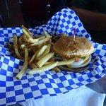Teriyaki Burger with fries and drink @8.00