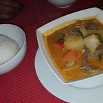 lovely red beef curry