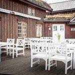 Terrassen utenfor Saltrøfjøset
