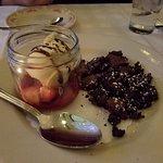 """Double Brownie Chocolate Brownie. My wife said it was good"