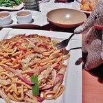 I love their pork lo mein