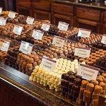 The sea of chocolate