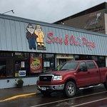 Sven & Ole's Pizza in Grand Marais, MN