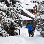 Deer Lodge Exterior Winter