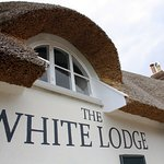 White Lodge thatched roof.