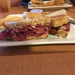 Brooklyn Dodger best cornbeef and pastrami sandwich