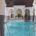 Indoor pool at La Mamounia