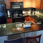 Granite counter tops, new appliances, led lighting