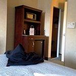 View looking towards door