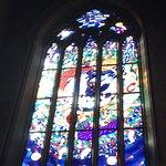 The south transept window