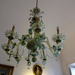 Chandelier in one of the rooms