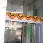 A 'Diwali' welcom