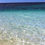 Sus aguas transparentes y cálidas son ideales para refrescarse del calor del Caribe !!!