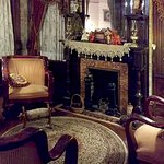 One of three opulent and comfortable first floor sitting rooms.