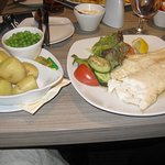 large portions and very tasty!!