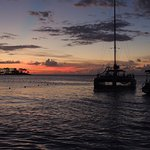 End of sunset Cruise provided by Couples Negril November 2016 great time
