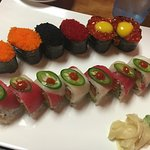 """Yummy sushi and """"Kiss of fire""""!"""