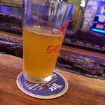 At the bar in shogun