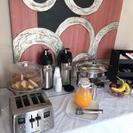 "Complimentary ""Good Morning"" Breakfast from 7:00am to 10:30am."