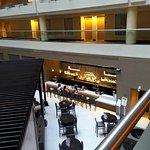 Interior atrium area