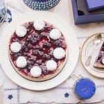 Blueberry Baked Cheesecake