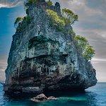 "Limestone rock called ""Island #2"" at Koh Haa"