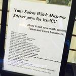 Zdjęcie Salem Witch Museum