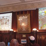 Bab Mella - inside the Rabbi Shalom Izzawi synagogue