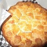 Very Good Raspberry Rhubarb Pie, Linn's Easy as Pie Cafe, Cambria, CA