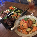 REAL Delicious THAI!  A must try: pineapple stir fry (prow and seafood are my favorite), Salmon