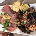 tuna and seafood salad