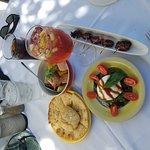 Bacon wrapped dates, burrata, tuna cerviche, bread_large.jpg