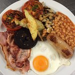 Our hearty breakfasts are made from the finest ingredients, including local butchers sausages.