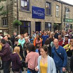 Watergate Tea Rooms, conveniently located next to the car park and river in the centre of Hebden