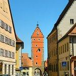 Blick zum Wörnitzer Tor vom Marktplatz