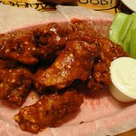Hot wings.... as they should be....HOT!